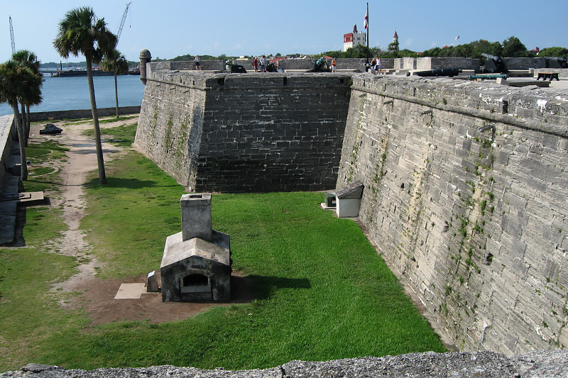 View over the wall.